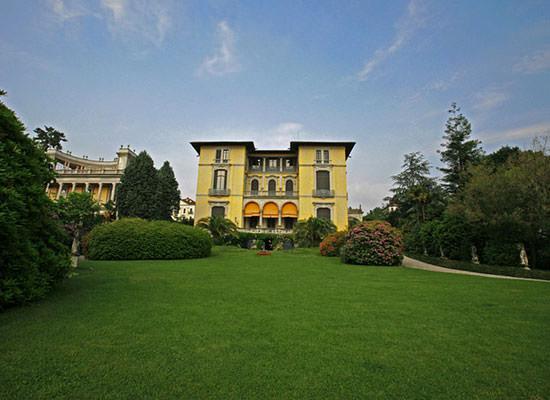 Villa Rusconi Clerici Pallanza wedding location