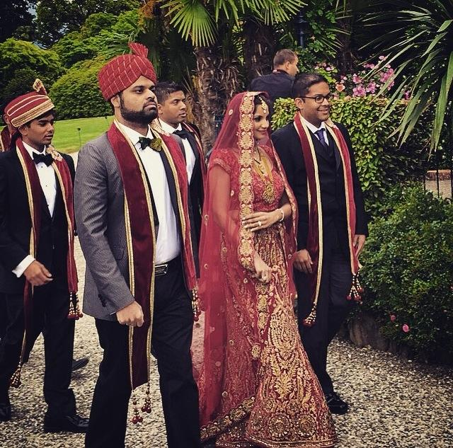 Indian wedding Villa Lake Maggiore